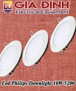 Đèn Led Philips Downlight 10W 5200 Meson Essential