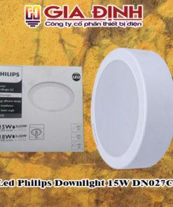 Đèn Led Philips Downlight 15W DN027C