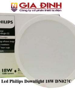Đèn Led Philips Downlight 18W DN027C