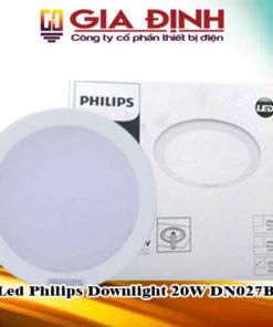 Đèn Led Philips Downlight 20W DN027B