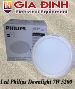 Đèn Led Philips Downlight 7W 5200 Meson Essential