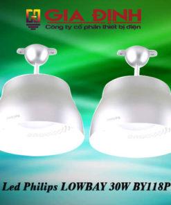 Đèn Led Philips LOWBAY 30W BY118P