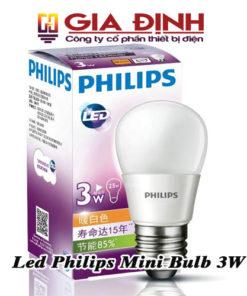 đèn Led Philips Mini Bulb 3W