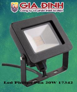 Đèn Led Philips Pha 20W 17342