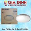 đèn led Philips ốp trần 12W 31824