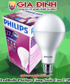 đèn LedBulb Philips Công Suất Cao 27W