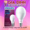 Đèn LedBulb Philips công suất cao 14.5W
