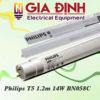 Đèn Led Philips T5 1.2m 14W BN058C