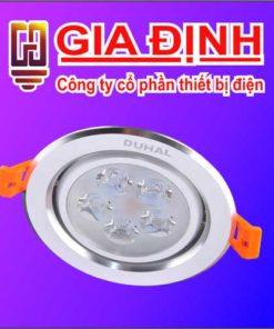 Đèn LED Duhal âm trần chiếu điểm 12W
