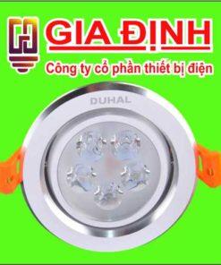 đèn Led Duhal âm trần chiếu điểm 5W
