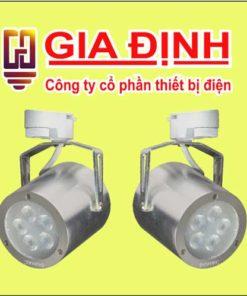 Đèn LED Duhal chiếu điểm thanh ray 9W