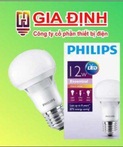 đèn Led Philips Bulb 12W Essential
