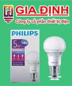 Đèn Led Philips Bulb 5W Essential