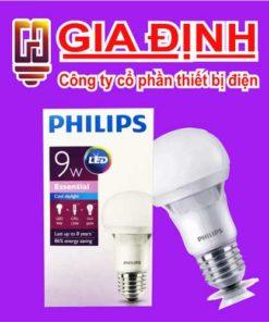 đèn Led Philips Bulb 9W Essential
