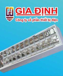 Máng đèn phản quang lắp nổi Duhal 14W