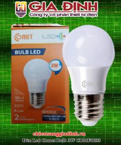 Đèn Led Comet Bulb 3W CB01F0033