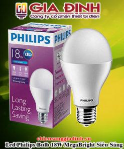 Đèn Led Philips Bulb 18W MegaBright Siêu Sáng