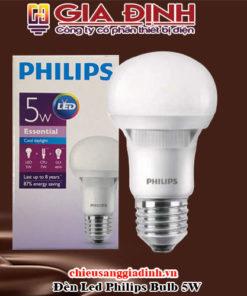 Đèn Led Philips Bulb 5W dòng cao cấp