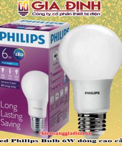 đèn Led Philips Bulb 6W dòng cao cấp
