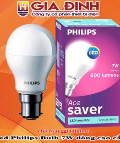 đèn Led Philips Bulb 7W dòng cao cấp
