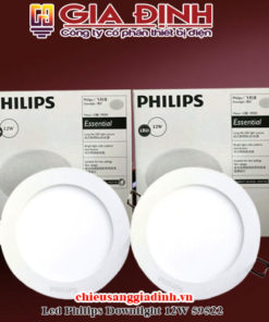 Đèn Led Philips Downlight 12W 59522 Marcasite