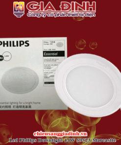 Đèn Led Philips Downlight 14W 59523 Marcasite