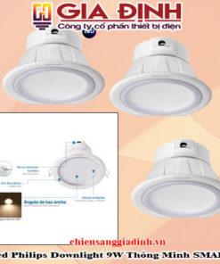 đèn led Philips Downlight 9W thông minh Smalu