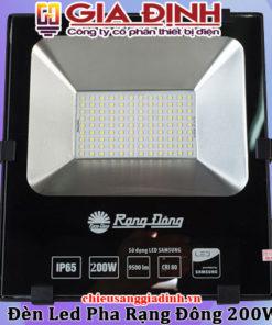 Đèn LED pha Rạng Đông 200W