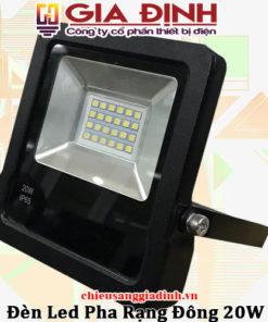 Đèn LED pha Rạng Đông 20w