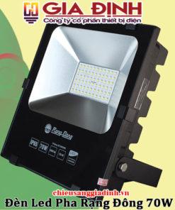 Đèn LED pha Rạng Đông 70W