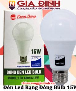 Đèn Led Rạng Đông Bulb 15W