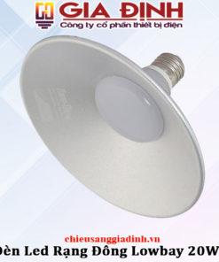 Đèn LED Rạng Đông Lowbay 20W