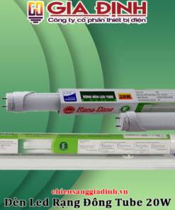 Đèn Led Rạng Đông Tube 20W