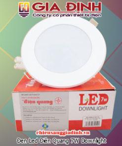 Đèn Led Điện Quang 7W Downlight